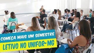 COMEÇA MAIS UM SEMESTRE LETIVO NO UNIFOR-MG