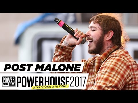 Post Malone Sings Live w/ Dj Felli Fel