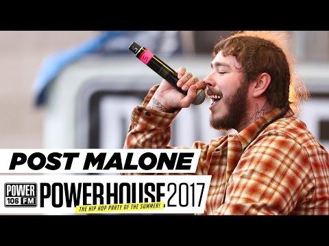 Post Malone Sings Live w/ Dj Felli Fel