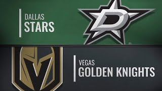 Dallas Stars vs Vegas Golden Knights | Dec.09, 2018 NHL | Game Highlights | Обзор матча