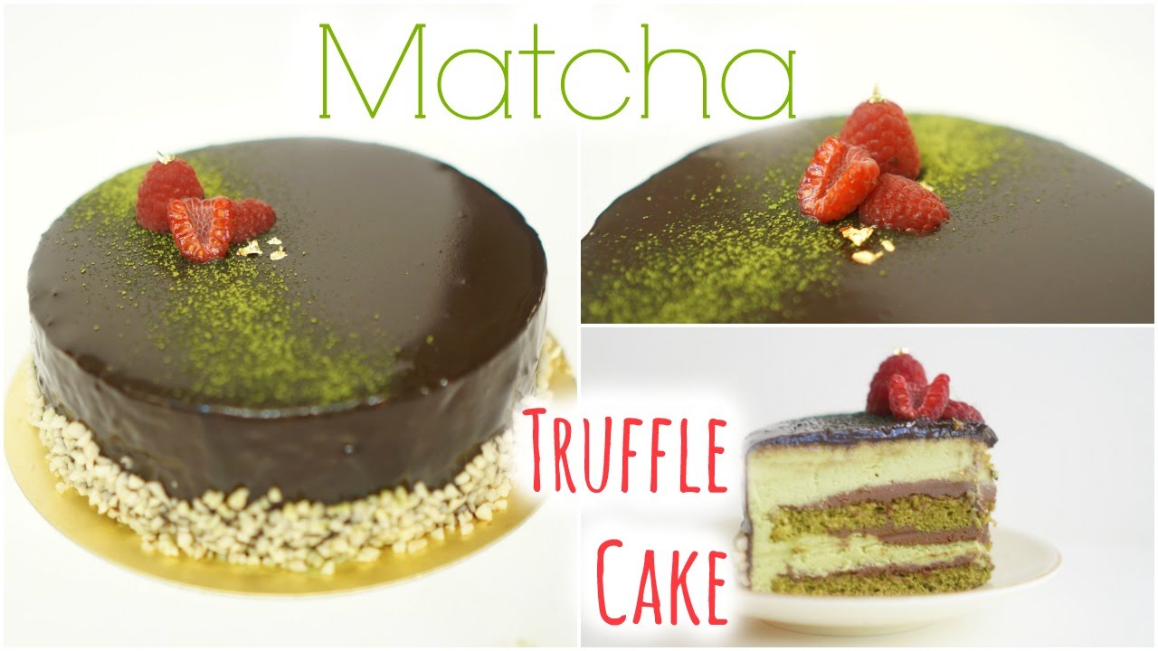 Chocolate Matcha Cake Singapore