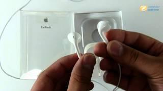 Apple EarPods ausgepackt bei computeruniverse (HD)