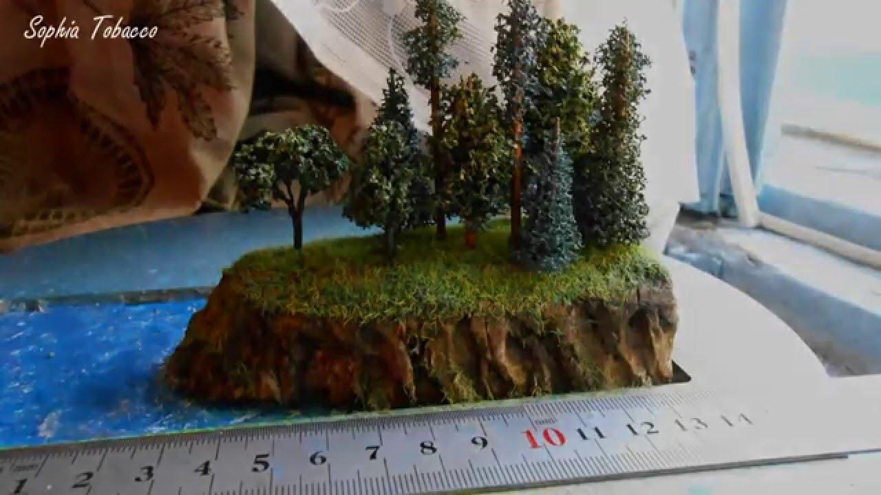 Диорамы своими руками деревья
