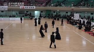 KUMAMOTO vs AOMORI 11th All Japan Interprefecture Ladies KENDO Championship 2019 1st Round