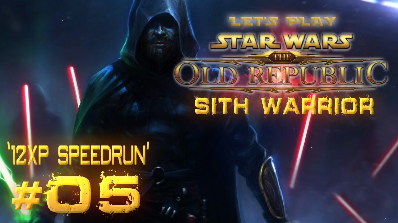 Star Wars: The Old Republic - Sith Warrior | '12XP Speedrun' - Magazine cover
