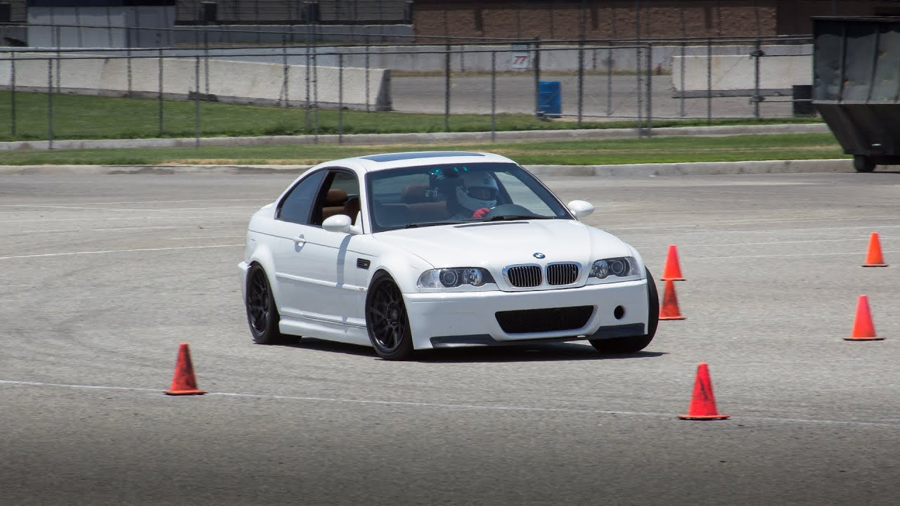 BMW E46 M3 Autocross with Speed Ventures at Auto Club Speedway