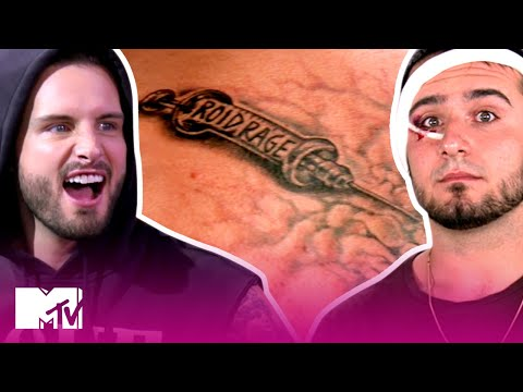 These Bros Brawl After This Tattoo Reveal 😱  How Far Is Tattoo Far?  MTV