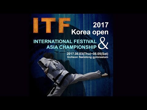 2017 ITF Korea open international festival &Asia Championship