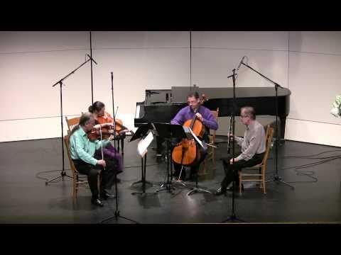 Benjamin Britten Phantasy Quartet, Op. 2 - 2012 CVCMF 20th anniversary season.