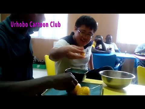 HOW A CHINESE MAN REACTED AFTER EATING NIGERIA FOOD STARCH AND OGHWO EVWRI
