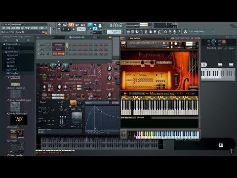 How to do Microtuning with Fruity Keyboard Controller in FL studio