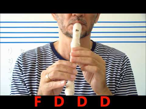 RECORDER - FLUTE -FIVE EASY MUSIC