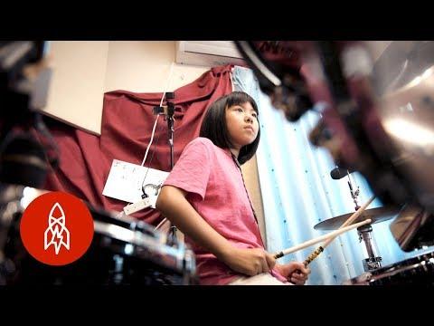 Logic MC - 9 Year Old Drumming Prodigy!