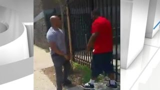 vuclip Video shows cop and suspect fight it out before arrest