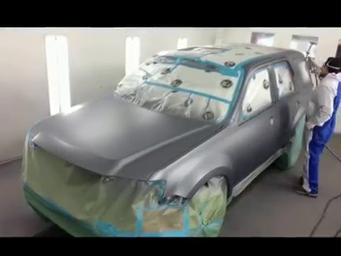 Multi-Craft Auto Body Spray Booth Painting
