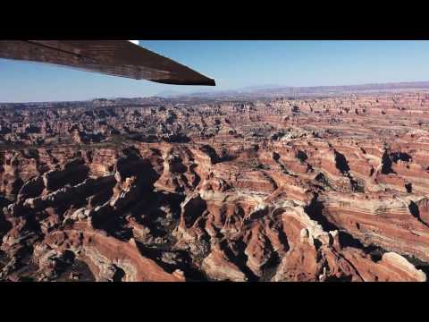Flying over Canyonlands ~ Moab