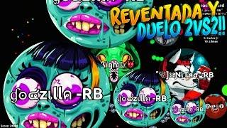 REVENTADA & DUELO 2vs2!! | Agar.io | Rubinho vlc