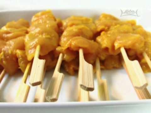 สูตรอาหารไทย: ไก่สะเต๊ะ โดย Lobo (www.lobo.co.th)