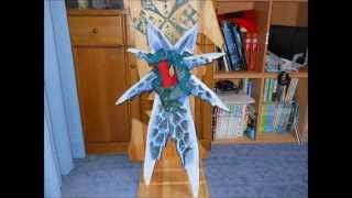 七星連刃【揺光】を木で作ってみた! つまようじボーガン 検索動画 30