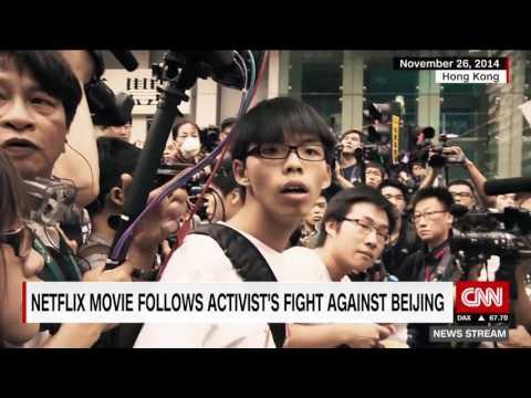 Activist Joshua Wong takes fight for Hong Kong democracy global