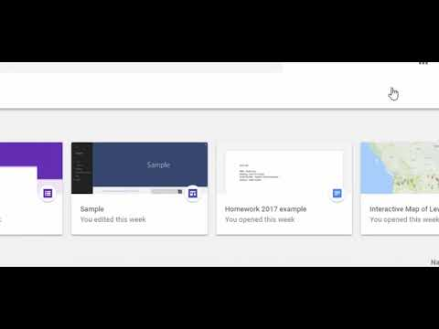 """How to remove the """"Quick Access"""" files from Google Drive"""