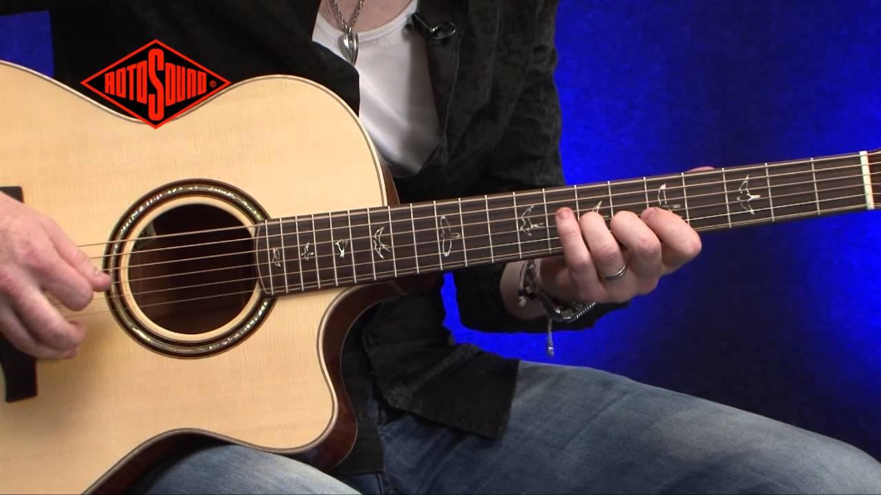 simon mcbride rotosound nexus coated acoustic guitar strings youtube. Black Bedroom Furniture Sets. Home Design Ideas