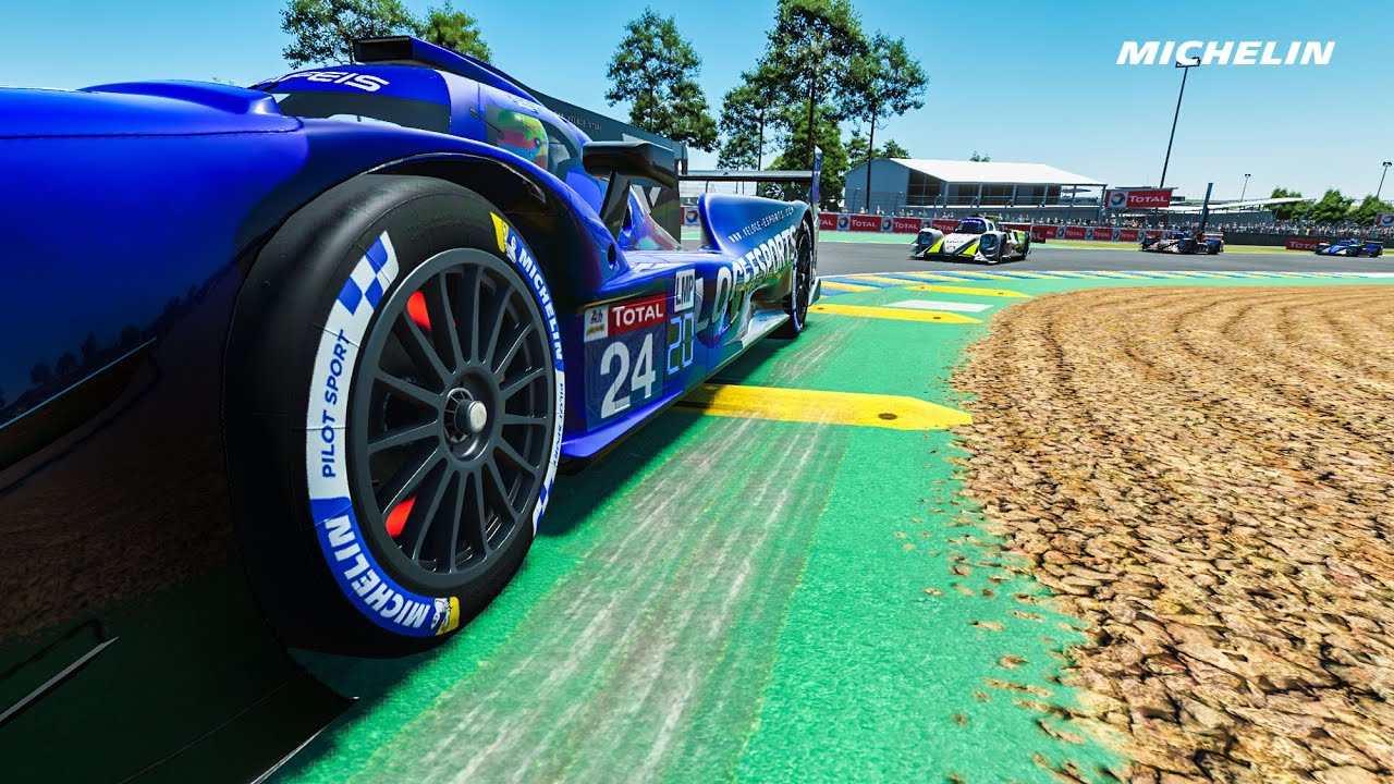 Michelin Motorsport: Virtual Le Mans 24 Hours forever first