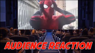 SPIDER-MAN FAR FROM HOME POST CREDIT SCENES AUDIENCE REACTION