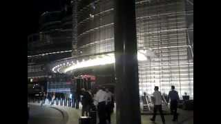 The Burj Khalifa and the Atmosphere Restaurant in Dubai