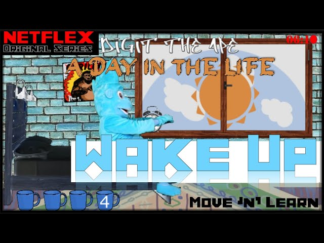 WAKE UP: Digit the Ape - A Day in the Life (Move 'n' Learn #1)