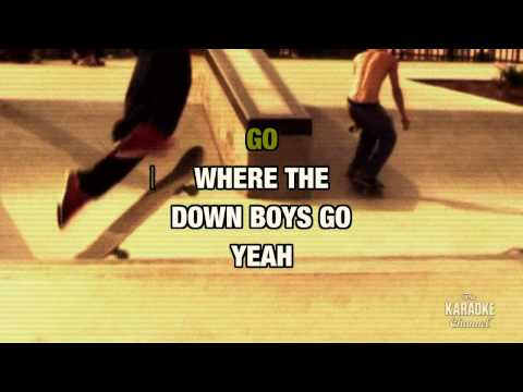 Down Boys in the style of Warrant | Karaoke with Lyrics