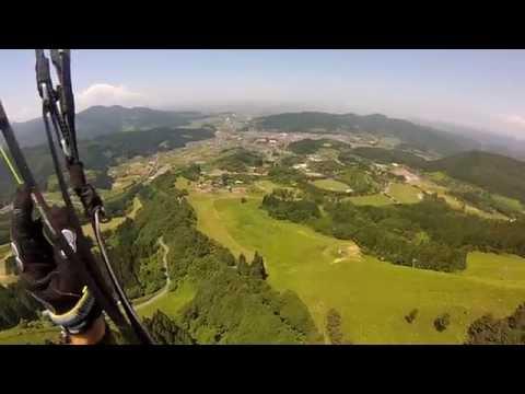 Paragliding Owani, Aomori Prefecture, Japan