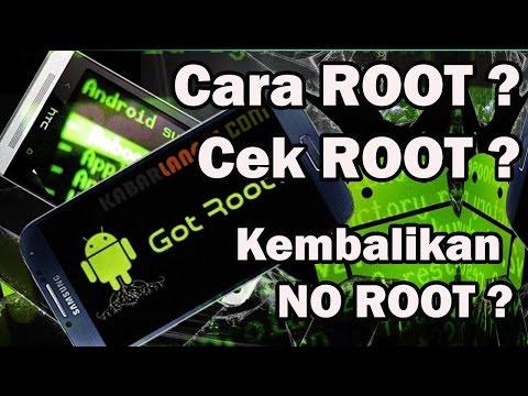 Cara Cek Android Sudah Root/Belum..?? TANPA APLIKASI ROOT-CHECKER.