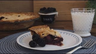 Pie Recipe - How to Make Blackberry Pie