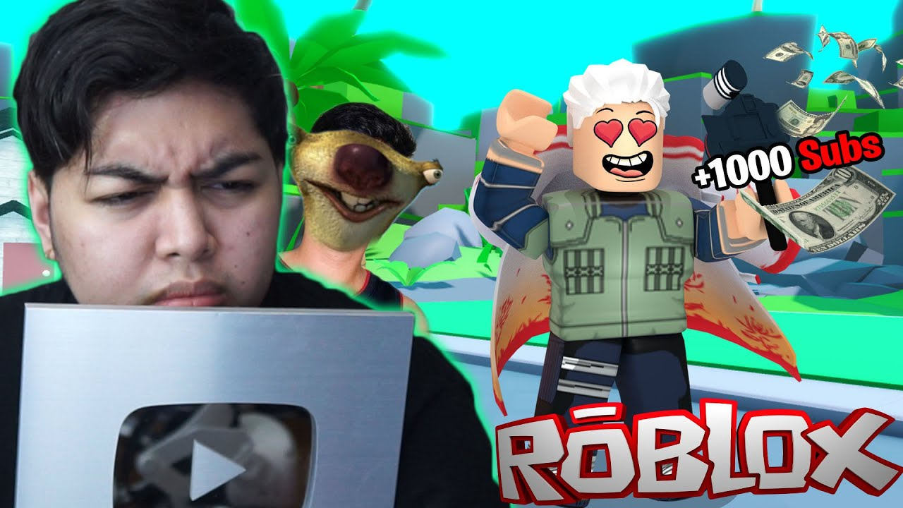 Youtube Simulator X (Roblox) - NAMEET KO JAMILL BLAGS