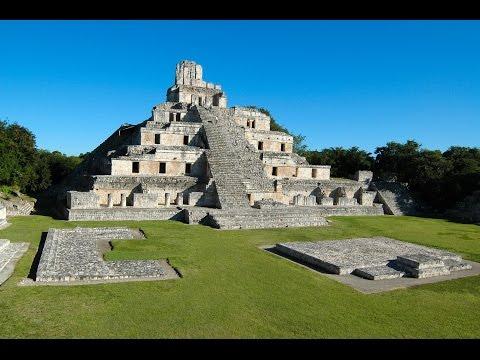 Edzna, une cité Maya dans la région de Campeche, au Mexique
