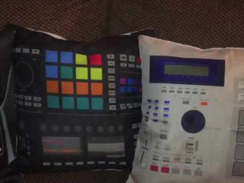 DJ Lisa Love Music Throw Pillows