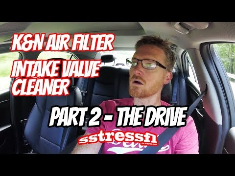 DRIVE REVIEW: K&N Air Filter | CRC Valve and Turbo Cleaner | Cadillac ATS 2.0t