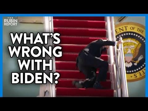 Shocking Footage of Joe Biden Falling Multiple Times: What Is Wrong? | DIRECT MESSAGE | Rubin Report