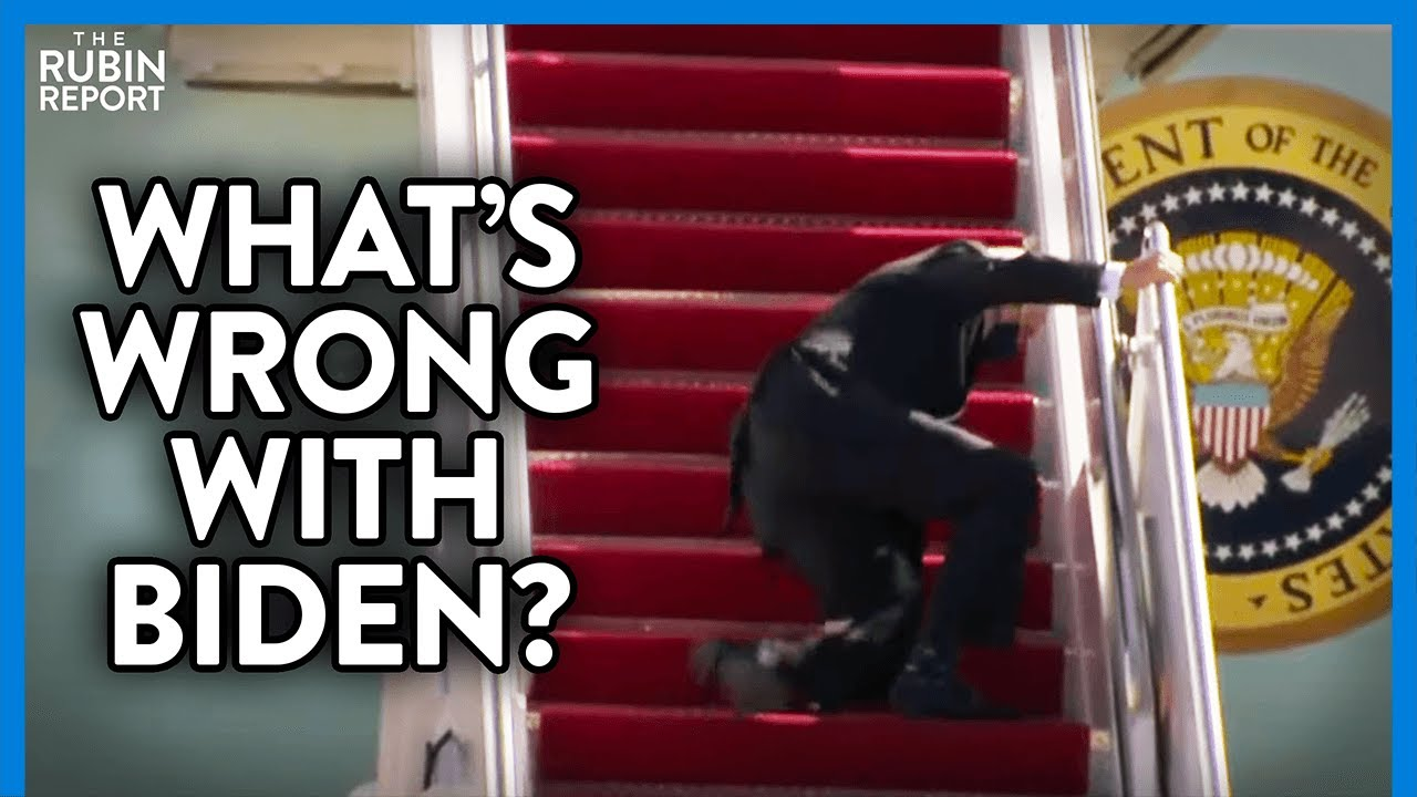 Shocking Footage of Joe Biden Falling Multiple Times: What Is Wrong? | DIRECT MESSAGE | Rubin Report - YouTube