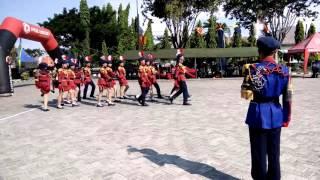 Paskibra smpn 7 surabaya prajurit BHATURA @HARDIKAL2016 juara utama 3