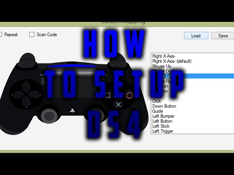 How To Set Up DS4 With Windows PC | Use PS4 Controller On PC |