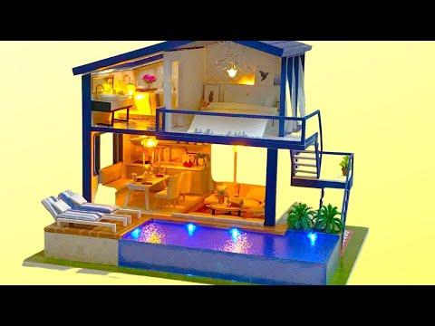 DIY Miniature Dollhouse Kit Time Apartment