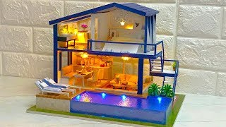 DIY Miniature Dollhouse Kit Time Apartment