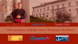 Euharistijsko klanjanje UŽIVO - kapela sv. Tita, 02.04.2020  17:30 h