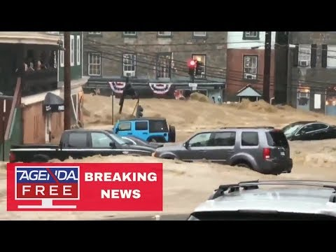 Major Flooding in Baltimore Area - LIVE BREAKING NEWS COVERAGE 5/27/18