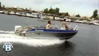 Алюминиевый катер Волжанка 51 Фиш(Как видно на видео, катер Волжанка 51 Фиш – универсальная моторная лодка с подвесным мотором, небольшим..., 2012-10-23T10:28:21.000Z)