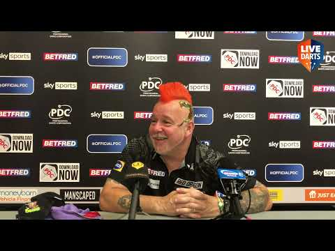 """Peter Wright: """"My biggest rival is myself, they've got to play well to get near me"""""""