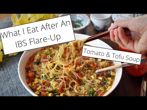 After An IBS Flare-Up: Tomato, Tofu Noodle Soup �� Vegan & LowFODMAP Recipe