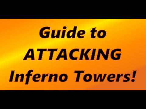 Clash of Clans: How To Attack Inferno Towers! TH10 Attacking Strategy
